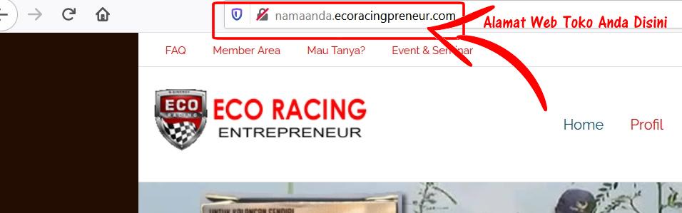 Web Replika Program Smart Ecoracingpreneur